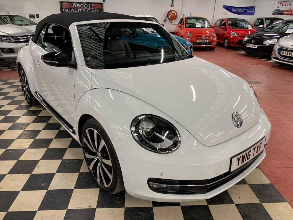 Volkswagen Beetle Convertible 2.0 TSI BlueMotion Tech Sport Cabriolet DSG (s/s) 2dr