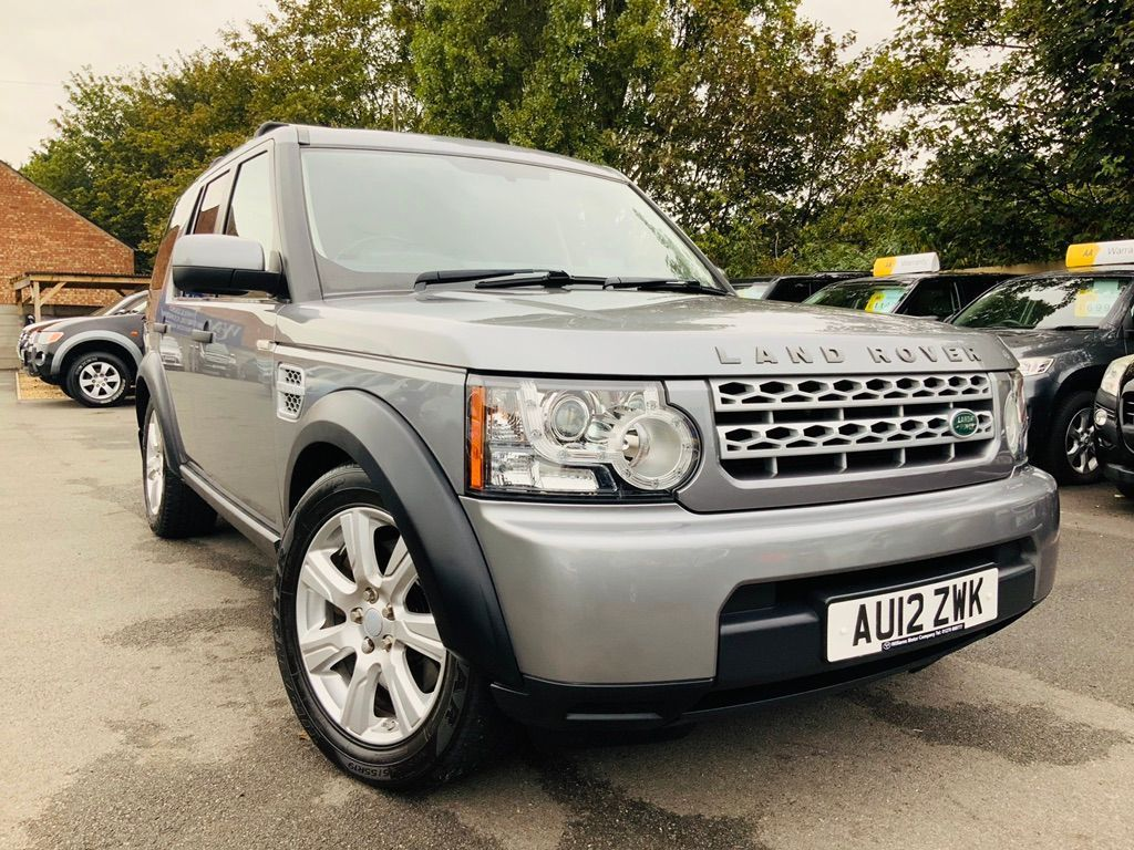 Land Rover Discovery 4 Other 3.0 SD V6 Panel Van 4X4 5dr