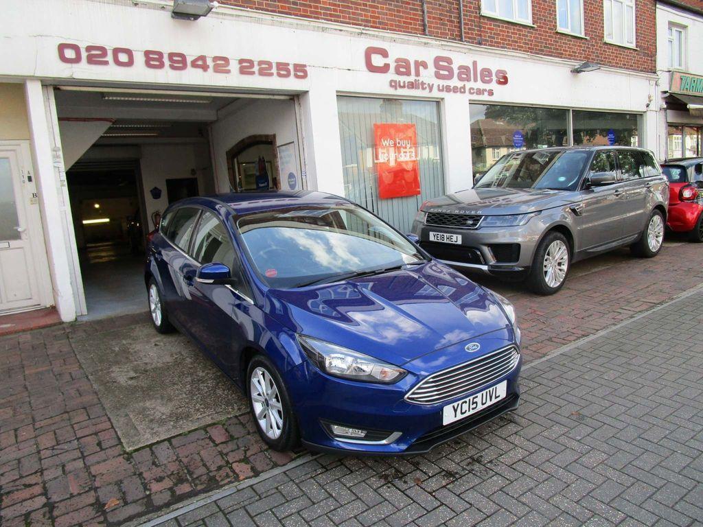 Ford Focus Hatchback 1.6 Titanium Powershift 5dr