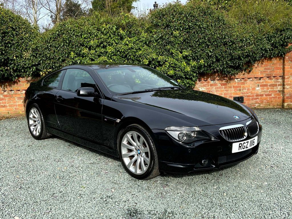 BMW 6 Series Coupe 650i Sport Auto
