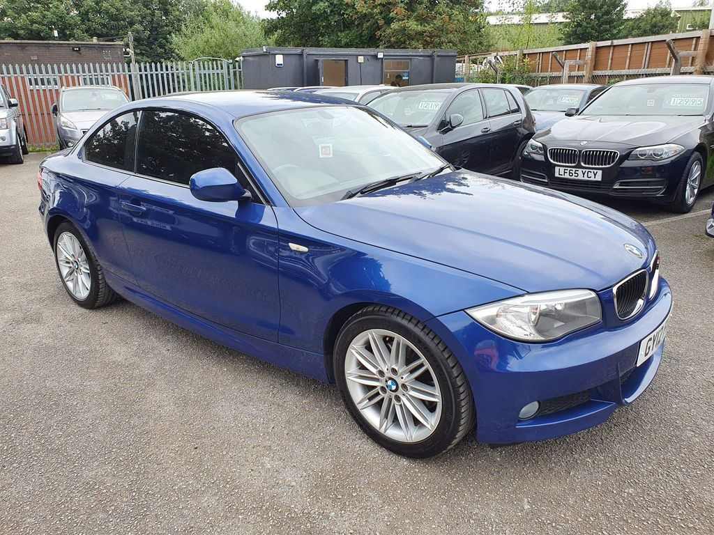 BMW 1 Series Coupe 2.0 120d M Sport Auto 2dr