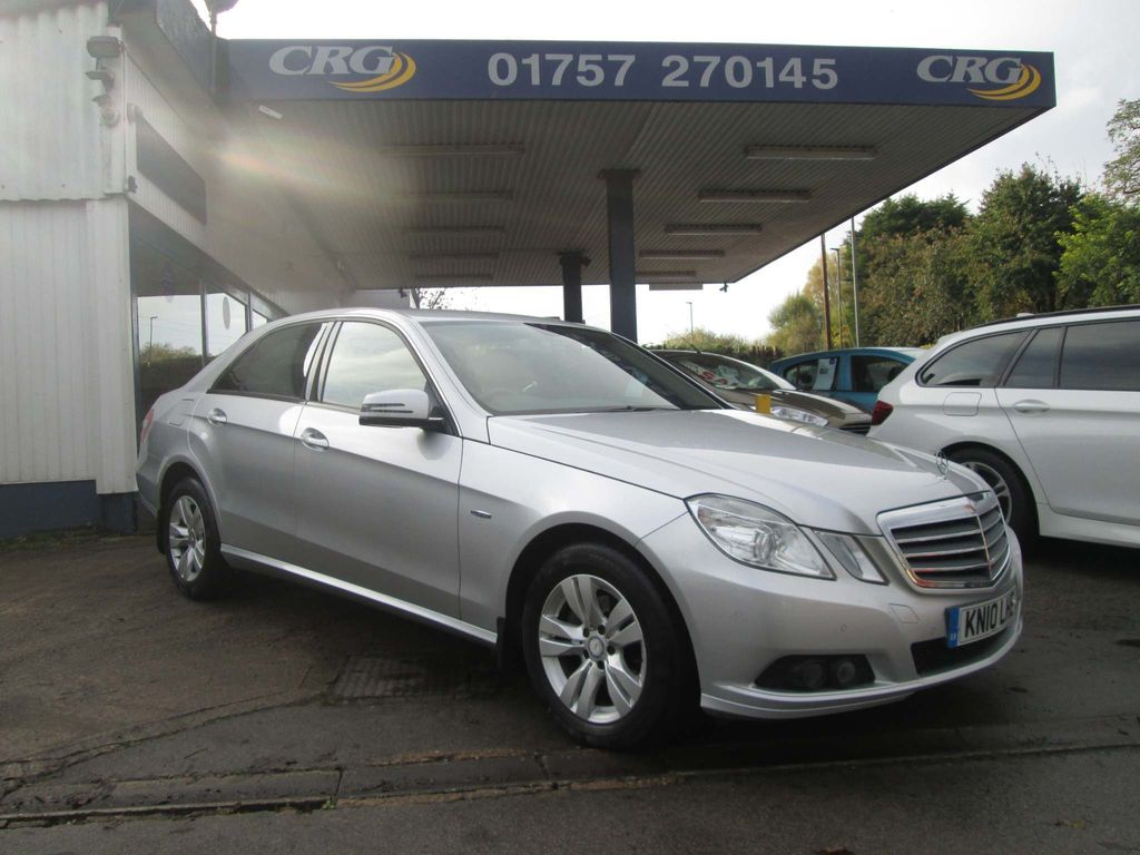 Mercedes-Benz E Class Saloon 2.1 E200 CDI BlueEFFICIENCY SE 4dr