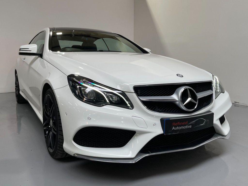 Mercedes-Benz E Class Coupe 3.0 E400 AMG Sport 7G-Tronic Plus 2dr