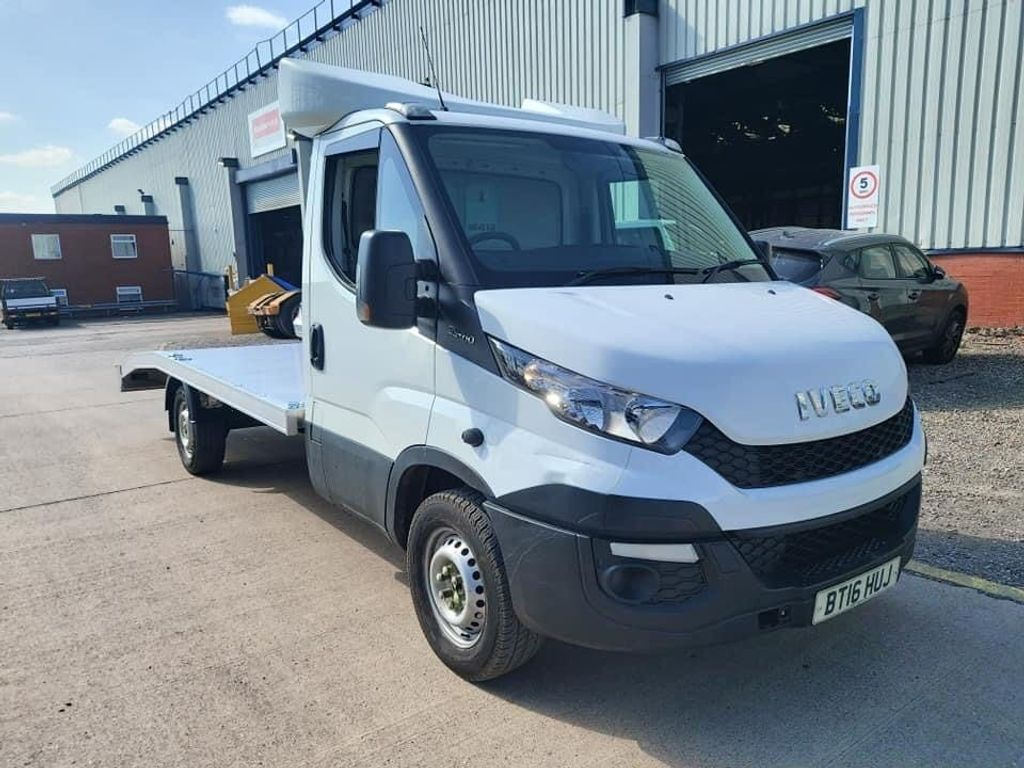 Iveco Daily Chassis Cab Car Recovery Truck 8 Speed Auto
