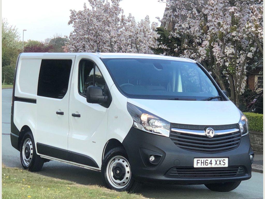 Vauxhall Vivaro Other 1.6 CDTi 2900 Crew Van L2 H1 EU5 5dr (6 Seat)