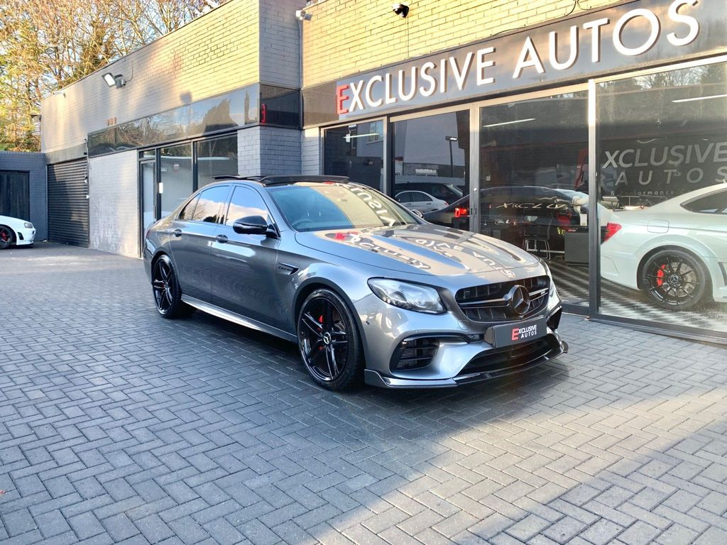 Mercedes-Benz E Class Saloon 4.0 E63 BiTurbo V8 AMG (Premium) SpdS MCT 4MATIC+ (s/s) 4dr
