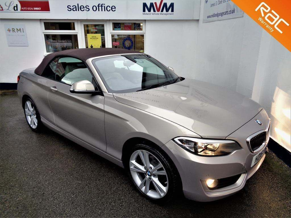 BMW 2 Series Convertible 1.5 218i SE Auto (s/s) 2dr