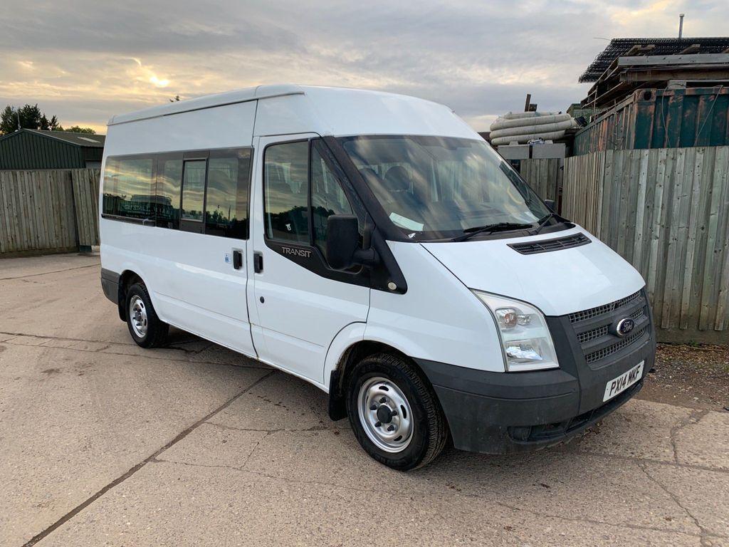 Ford Transit Minibus 2.2 TDCi 300 Medium Roof Shuttle Bus M 4dr (9 Seats, MWB)