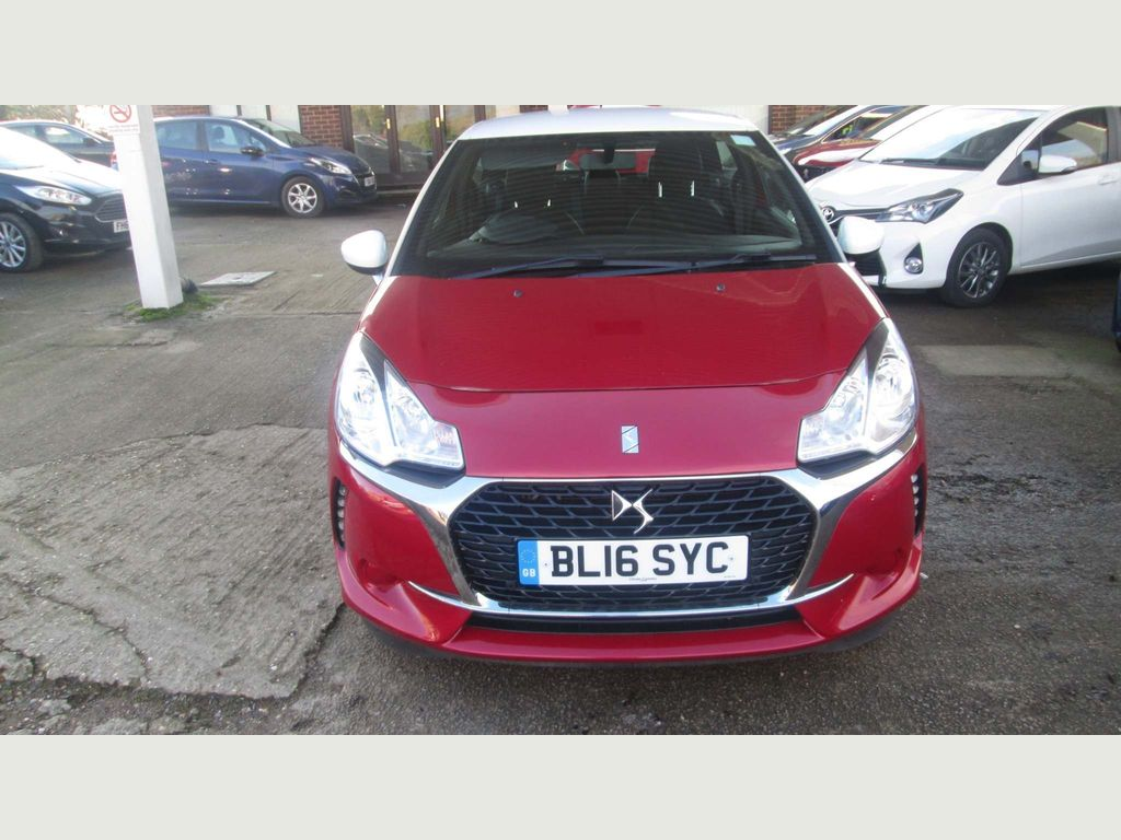 DS AUTOMOBILES DS 3 Hatchback 1.6 BlueHDi Chic (s/s) 3dr