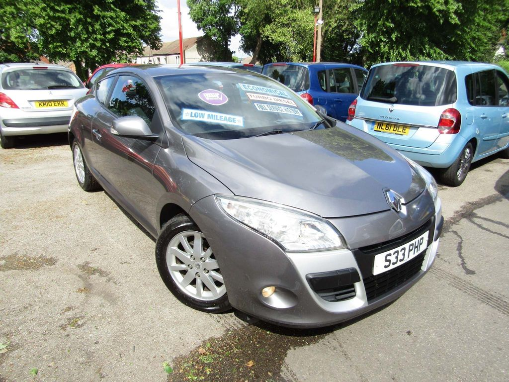 Renault Megane Coupe 1.5 dCi Expression 3dr