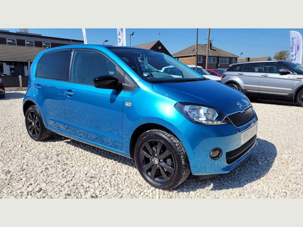 SKODA Citigo Hatchback 1.0 MPI Colour Edition 5dr