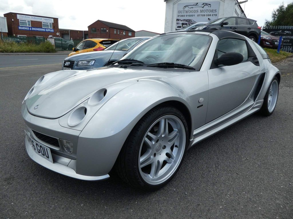 Smart Roadster Convertible 0.7 Brabus Final Edition Roadster-coupe 2dr
