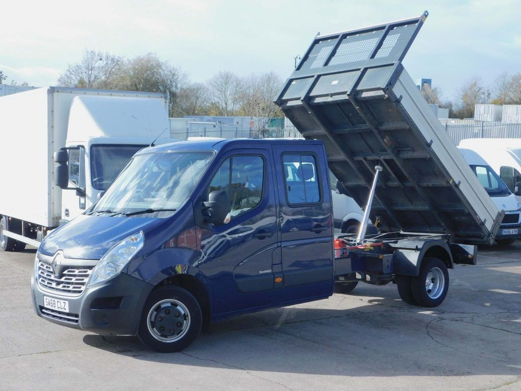 Renault Master Tipper 2.3DCI BUSINESS DOUBLE CAB TIPPER EURO 6