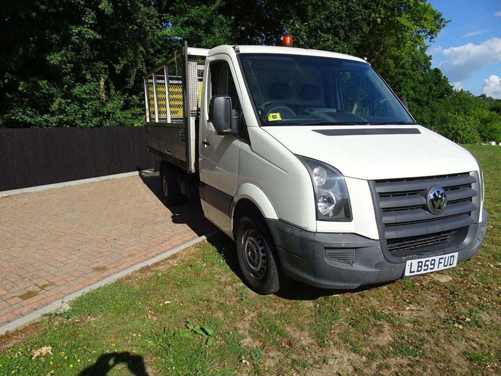 Volkswagen Crafter Tipper 2.5 BlueTDI CR35 Tipper 2dr (LWB)