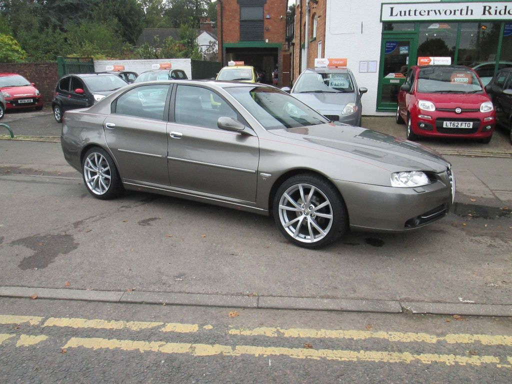 ALFA ROMEO 166 Saloon 2.0 T.Spark Lusso 4dr