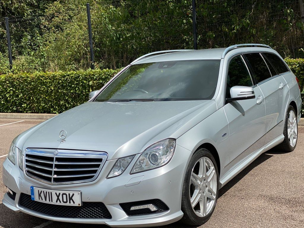 Mercedes-Benz E Class Estate 2.1 E250 CDI BlueEFFICIENCY Sport Edition 125 G-Tronic (s/s) 5dr