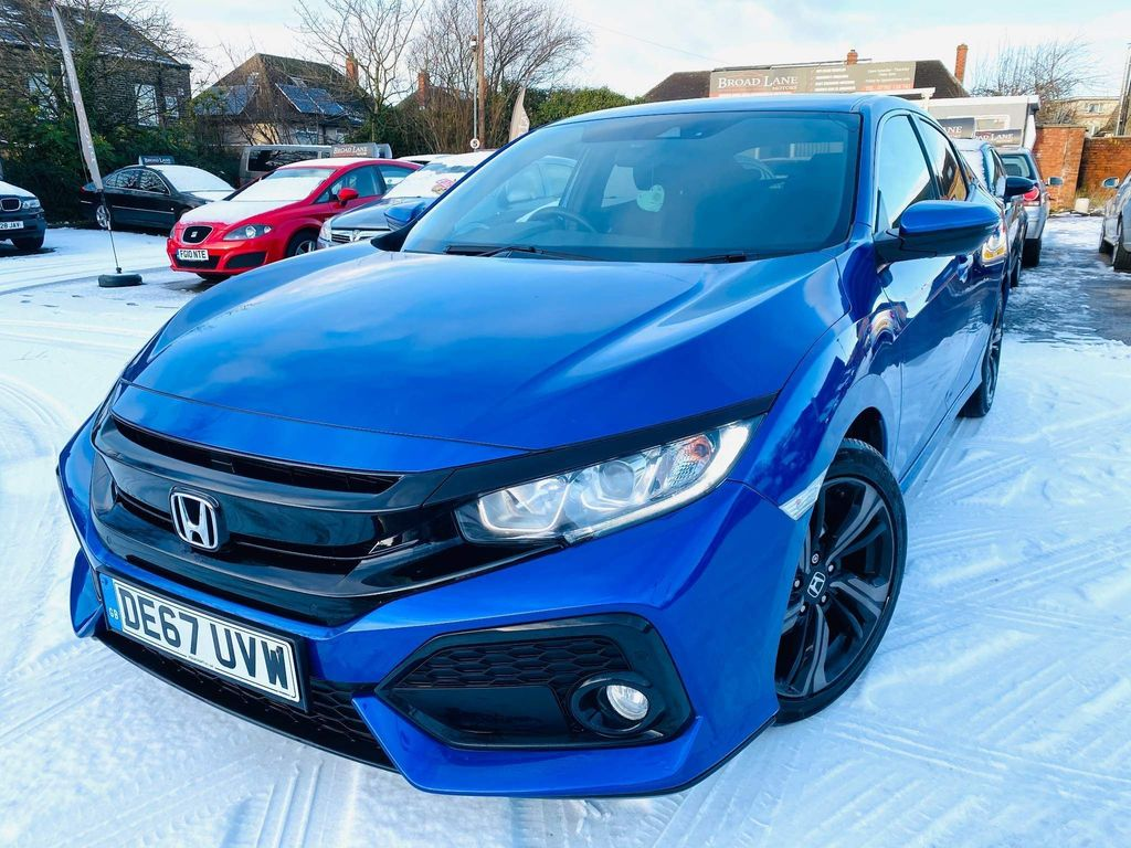 Honda Civic Hatchback 1.0 VTEC Turbo SR CVT (s/s) 5dr