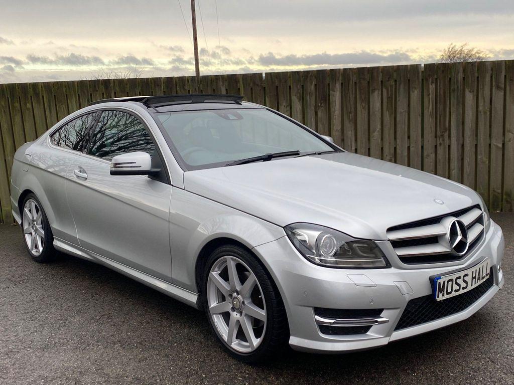 Mercedes-Benz C Class Coupe 2.1 C250 CDI AMG Sport Edition (Premium Plus) 7G-Tronic Plus 2dr
