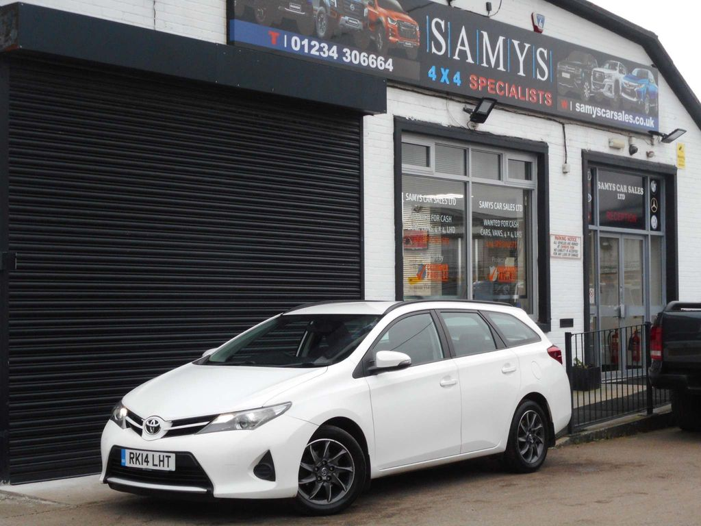 Toyota Auris Estate 1.4 D-4D Active (s/s) 5dr