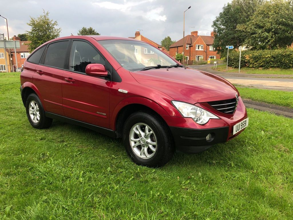 SSANGYONG ACTYON Unlisted {Edition unlisted}