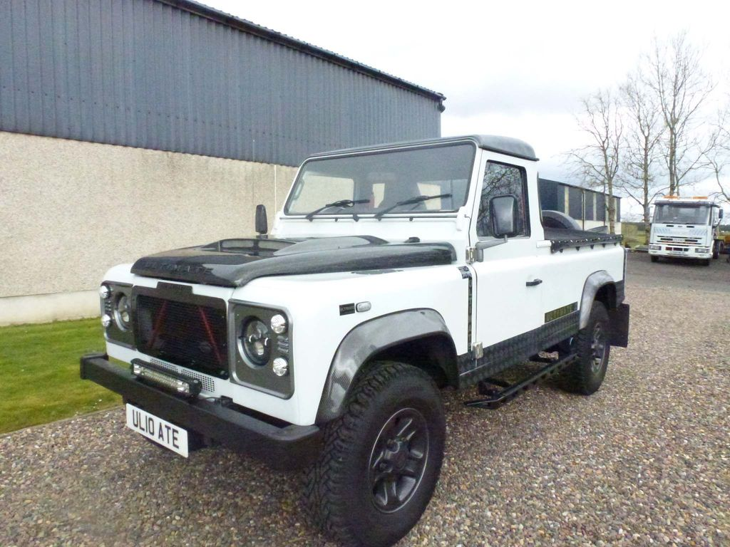 Land Rover Defender 110 Chassis Cab 2.4 TDi Chassis Cab 2dr