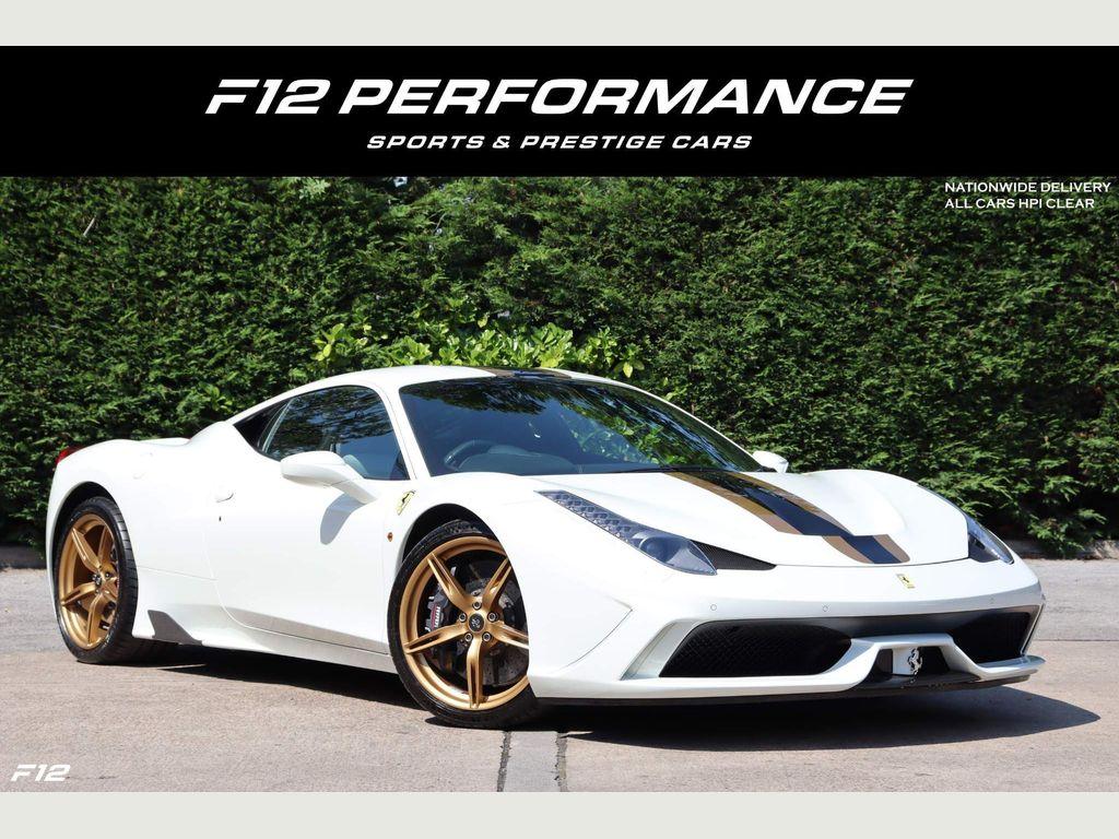 Ferrari 458 Coupe 4.5 Speciale 2dr