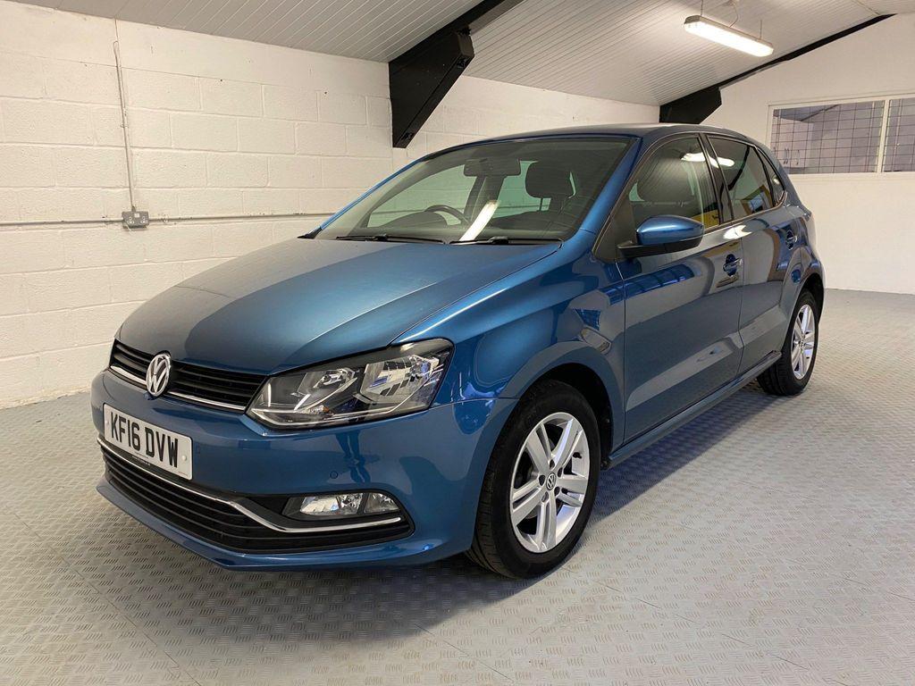 Volkswagen Polo Hatchback 1.2 TSI BlueMotion Tech Match DSG (s/s) 5dr