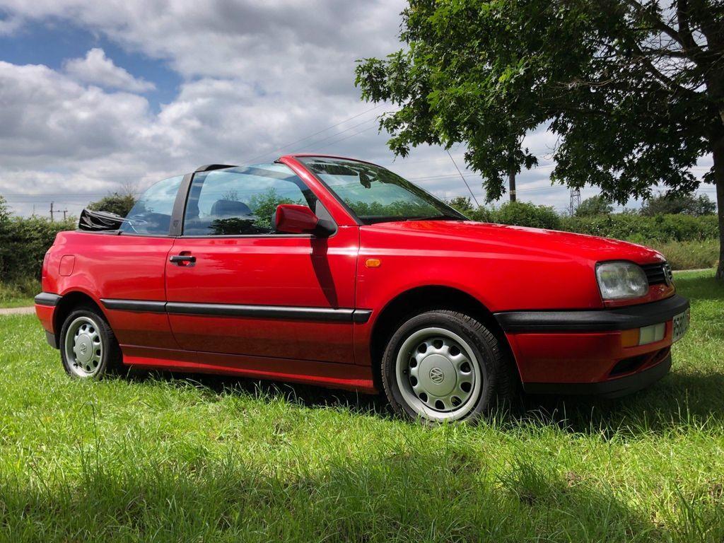 Volkswagen Golf Convertible 1.8 2dr