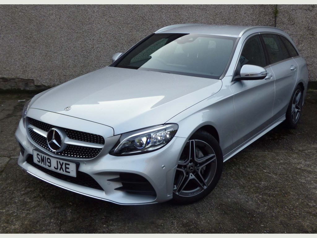Mercedes-Benz C Class Estate 1.5 C200 EQ Boost AMG Line (Premium) G-Tronic+ (s/s) 5dr