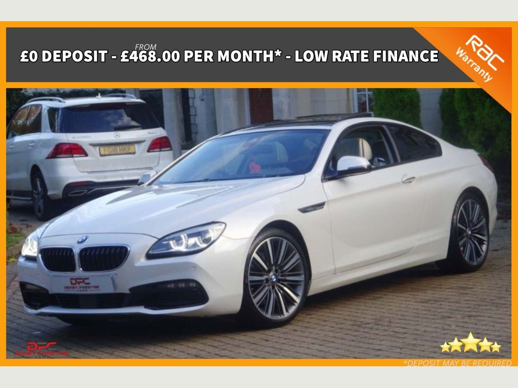 BMW 6 Series Coupe 3.0 640d SE Steptronic 2dr