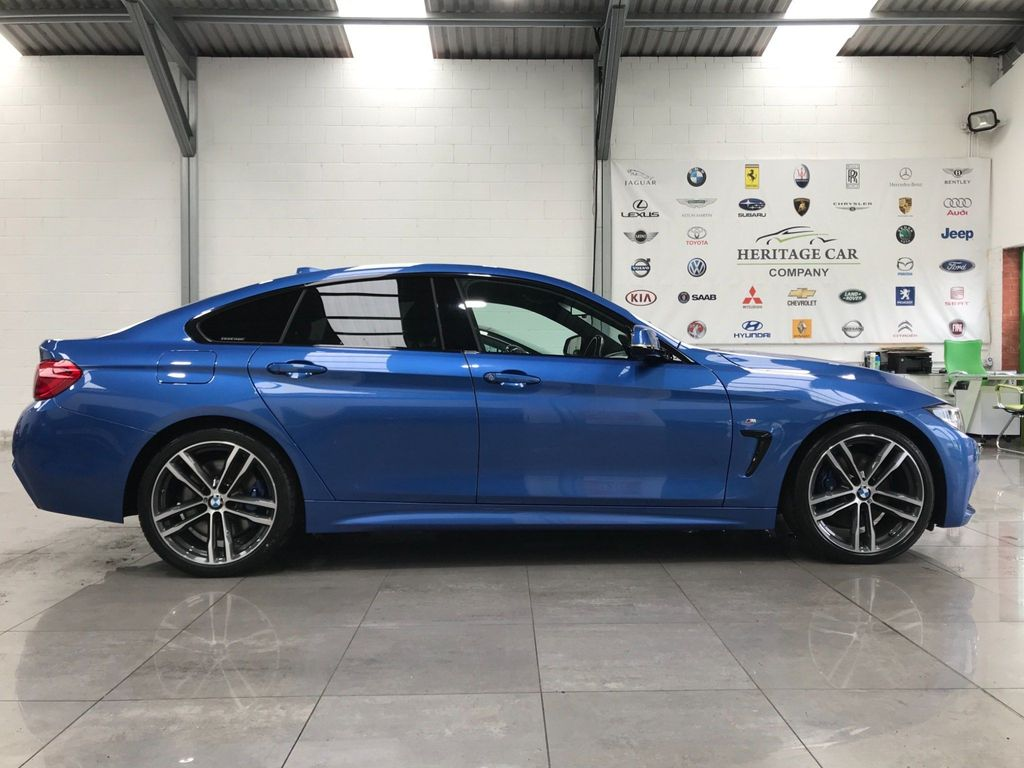 BMW 4 Series Gran Coupe Saloon 2.0 420d M Sport Gran Coupe Auto (s/s) 5dr