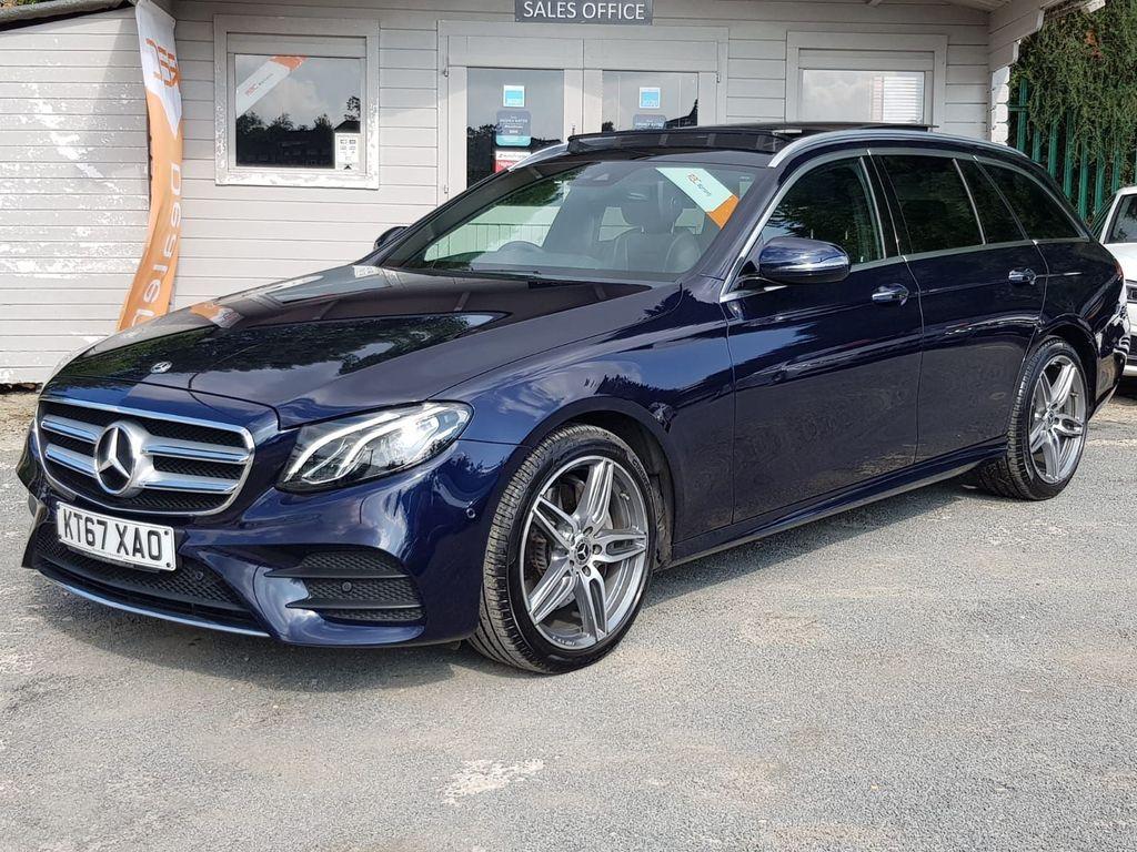 Mercedes-Benz E Class Estate 2.0 E220d AMG Line (Premium) G-Tronic+ 4MATIC (s/s) 5dr