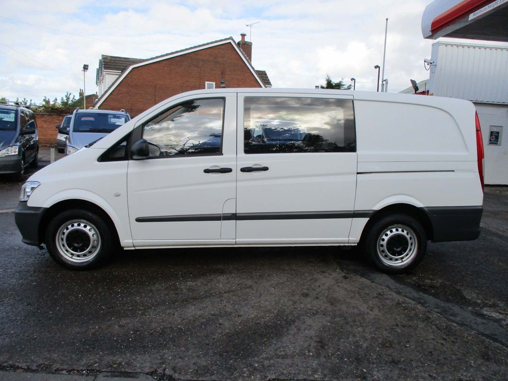 Mercedes-Benz Vito Other 2.1 CDI Dualiner Long Panel Van 5dr (5 Seats)