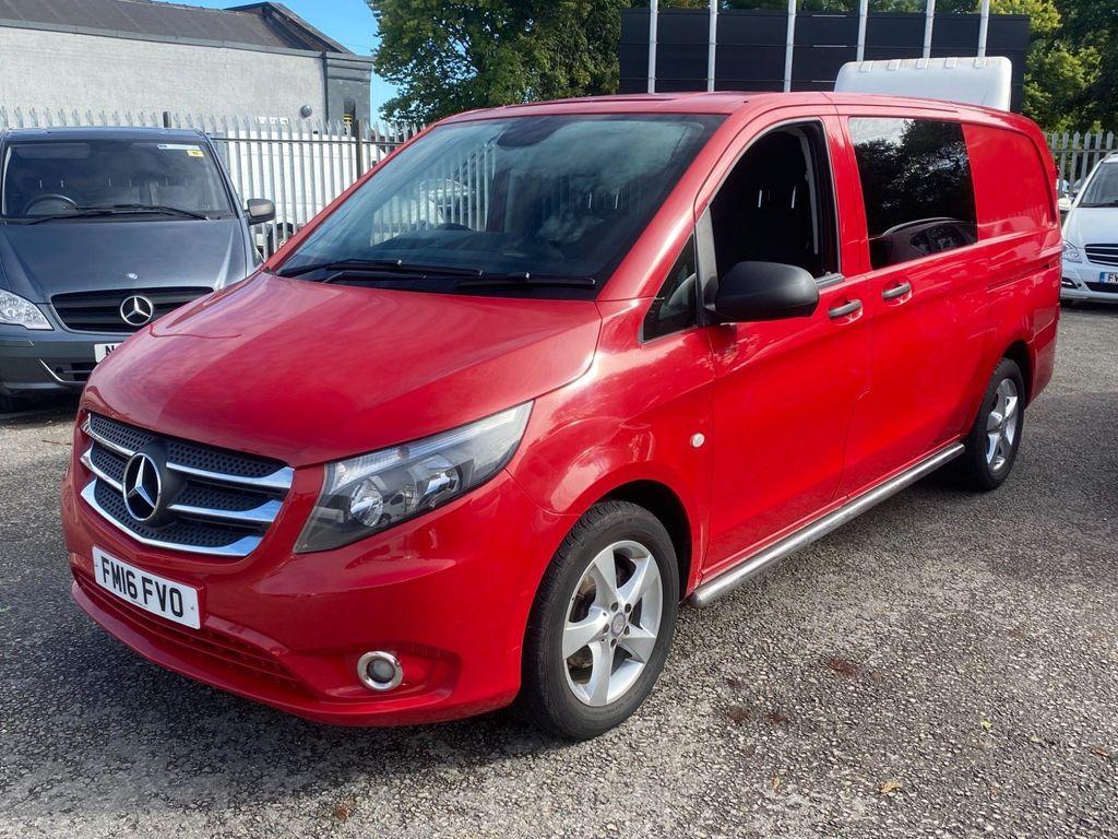 Mercedes-Benz Vito Combi Van 2.1 116 CDi BlueTEC Sport Crew Van RWD L2 EU6 (s/s) 5dr