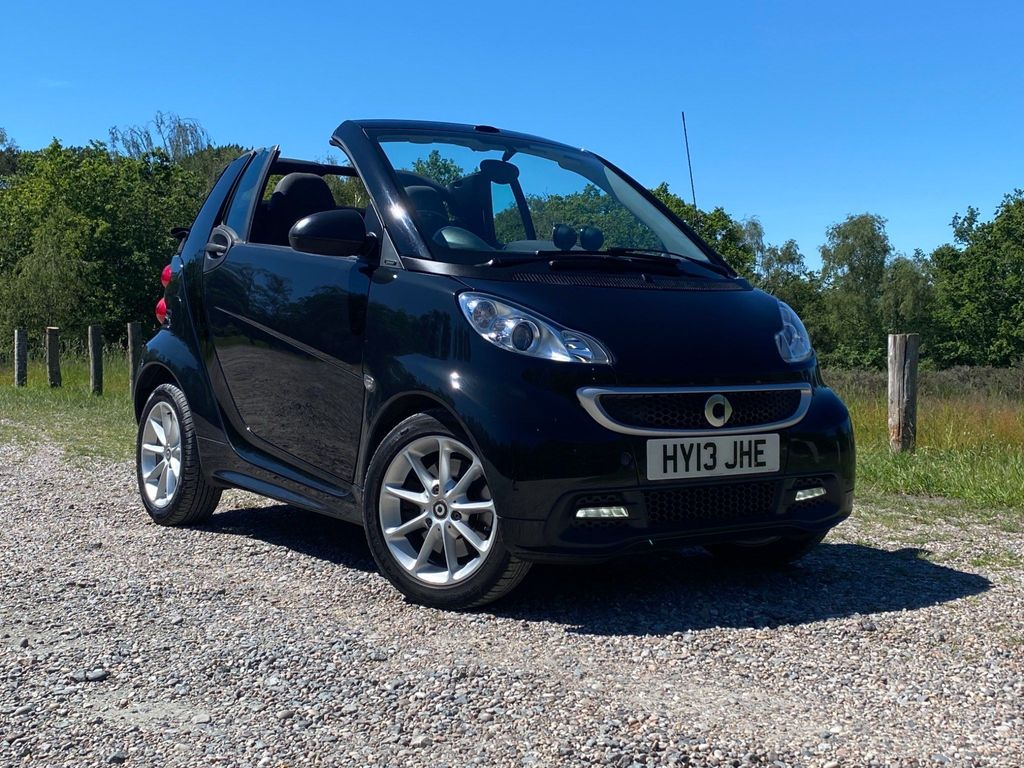 Smart fortwo Convertible 1.0 Passion Cabriolet Softouch 2dr