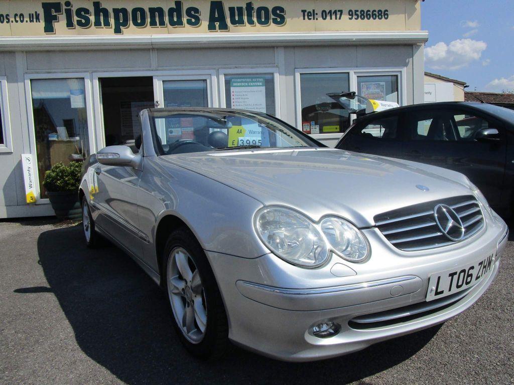Mercedes-Benz CLK Convertible 2.6 CLK240 Avantgarde Cabriolet 2dr