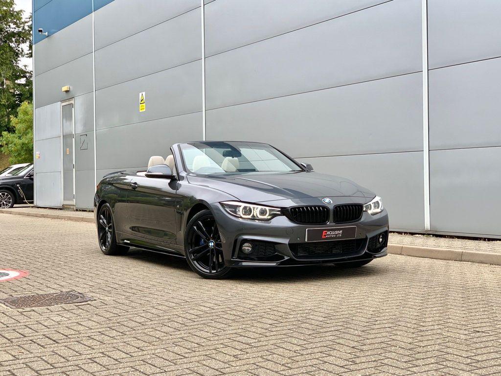 BMW 4 Series Convertible 2.0 420d M Sport Auto (s/s) 2dr