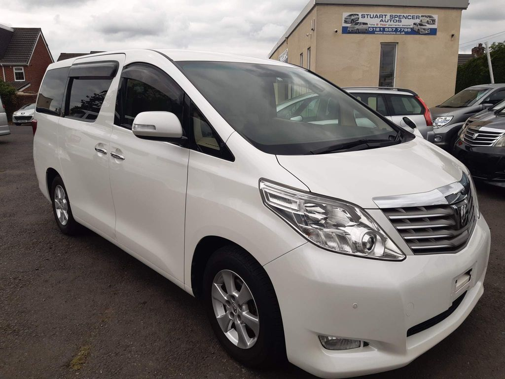 Toyota Alphard Unlisted 240 X [ SOLD ]