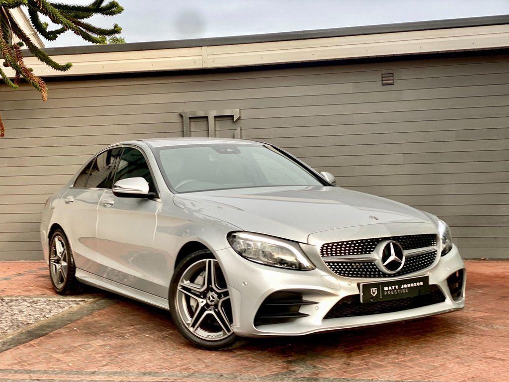 Mercedes-Benz C Class Saloon 2.0 C300d AMG Line (Premium) G-Tronic+ (s/s) 4dr