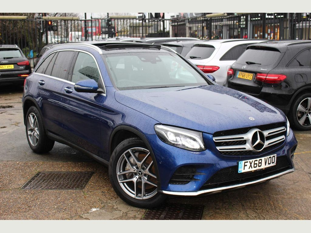 Mercedes-Benz GLC Class SUV 2.0 GLC250 AMG Line (Premium) G-Tronic+ 4MATIC (s/s) 5dr
