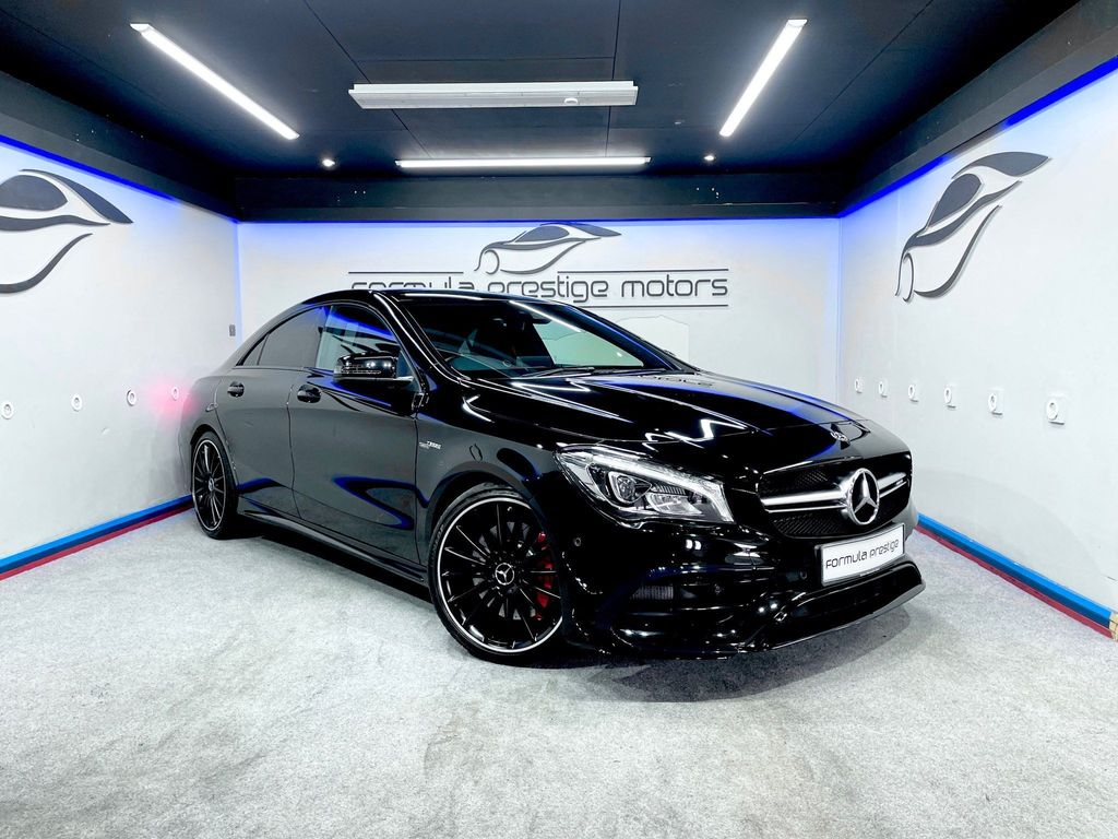 Mercedes-Benz CLA Class Coupe 2.0 CLA45 AMG Night Edition (Plus) SpdS DCT 4MATIC (s/s) 4dr
