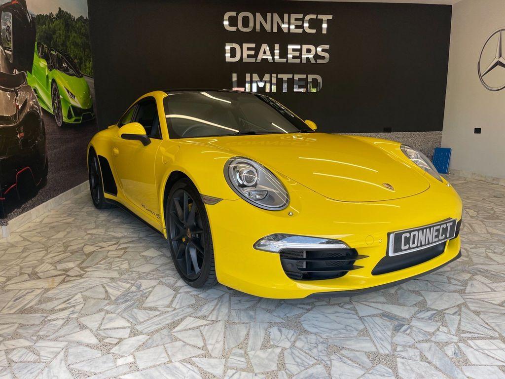 Porsche 911 Coupe 3.8 991 Carrera 4S 4WD (s/s) 2dr