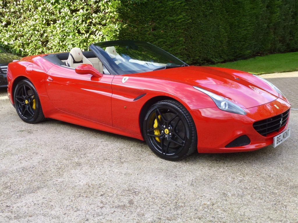 Ferrari California Convertible 3.8 V8 T F1 DCT (s/s) 2dr
