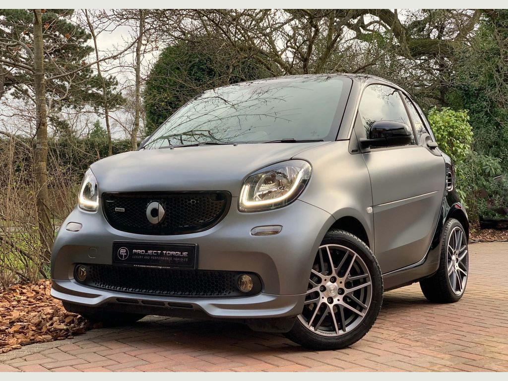 Smart fortwo Coupe 0.9T BRABUS Xclusive Twinamic (s/s) 2dr