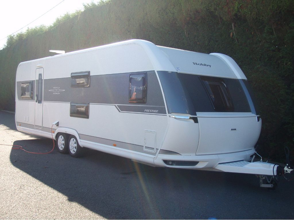 Hobby 720 UKFE PRESTIGE Tourer 7 BERTH,FIXED BED,FIXED BUNK BEDS,EXCELLENT CONDITION.