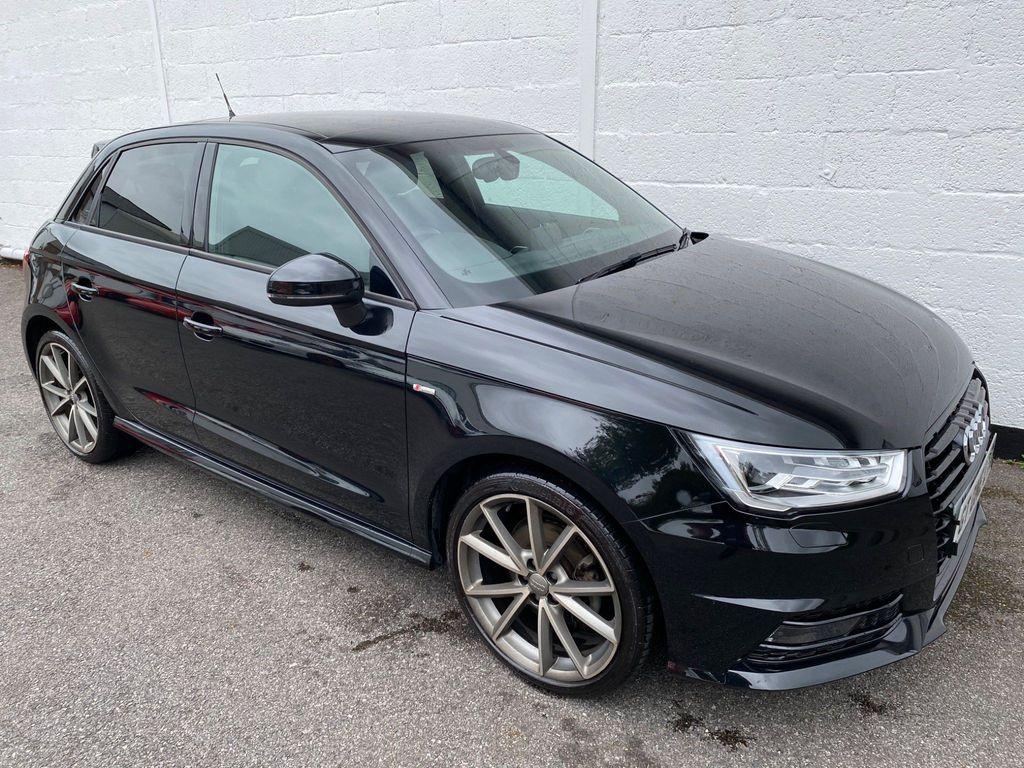 Audi A1 Hatchback 1.4 TFSI CoD Black Edition Sportback S Tronic (s/s) 5dr (Nav)