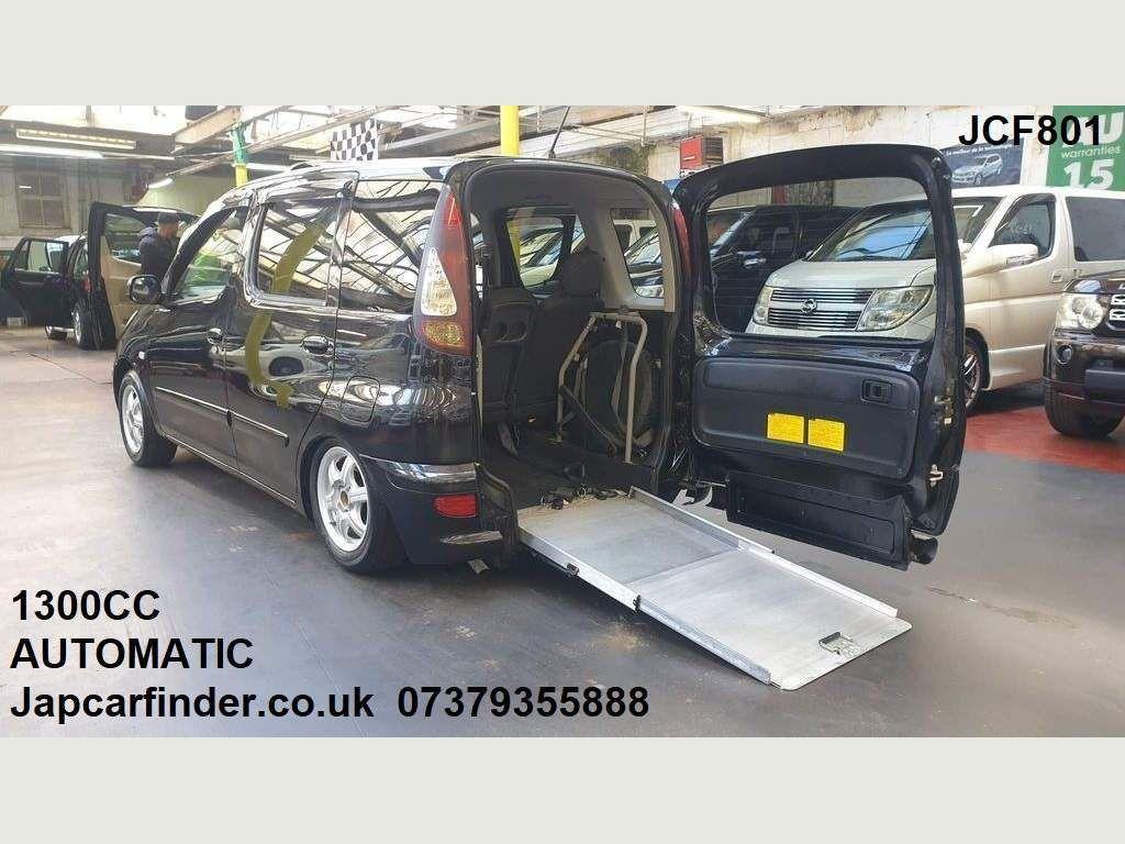 Toyota Yaris Verso Hatchback 1.3 VVT-i T3 Mobility access ramp