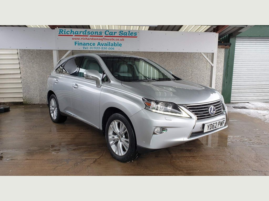 Used Lexus Rx 450h Suv 3 5 Luxury Cvt 4x4 5dr In Lincoln Lincolnshire Richardsons Of Lincoln