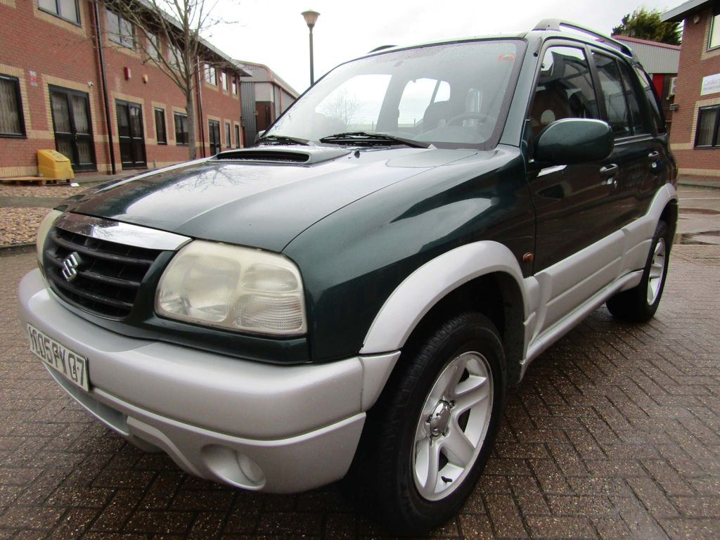 Suzuki Grand Vitara Unlisted 2.0 TDi 4X4 5 DR 5 SPEED MANUAL