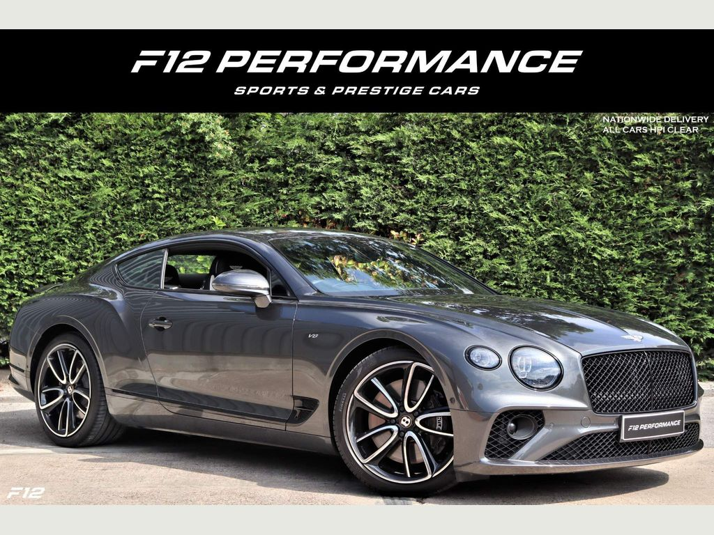 Bentley Continental Coupe 4.0 V8 GT Auto 4WD (s/s) 2dr